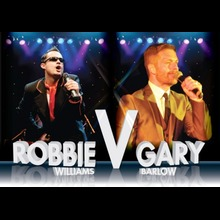 Robbie Williams Tribute Act: Gary v Robbie
